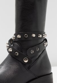 WAY OUT LONDON - Over-the-knee boots - rock nero - 2