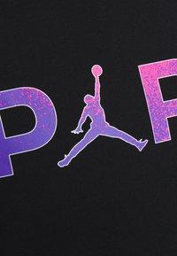 Nike Performance - PARIS ST GERMAIN WORDMARK TEE - Club wear - black - 6