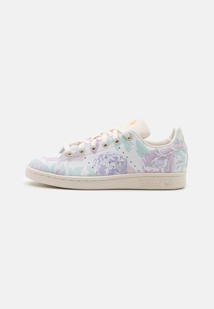 STAN SMITH UNISEX - Sneakers laag - offwhite/hazy emerald