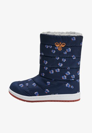 PUFFER PRINT JR - Winter boots - black iris