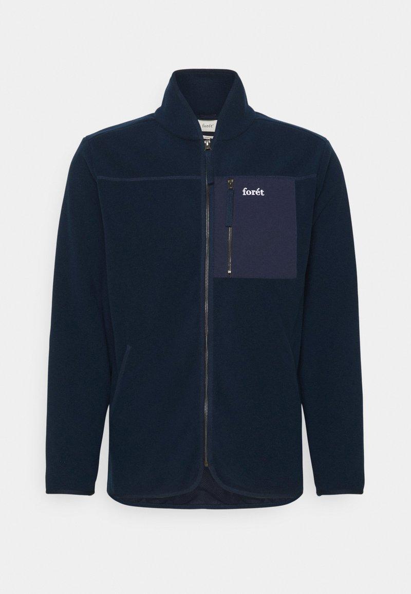 forét - SILENCE JACKET - Fleece jacket - navy