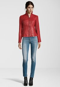 7eleven - PADUA  - Leather jacket - red - 1