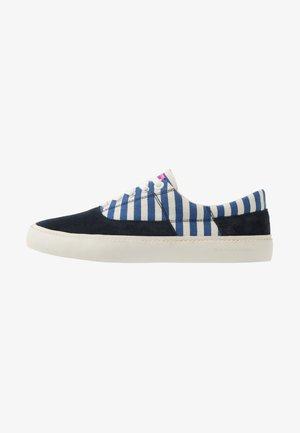 MENTON LACE SHOES - Baskets basses - blue striped