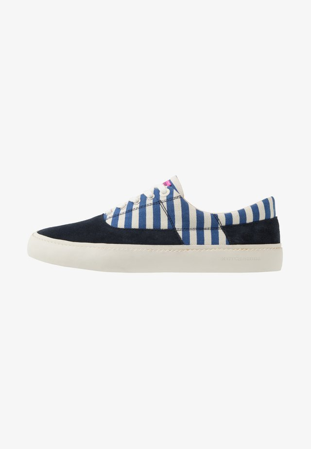 MENTON LACE SHOES - Sneakers basse - blue striped