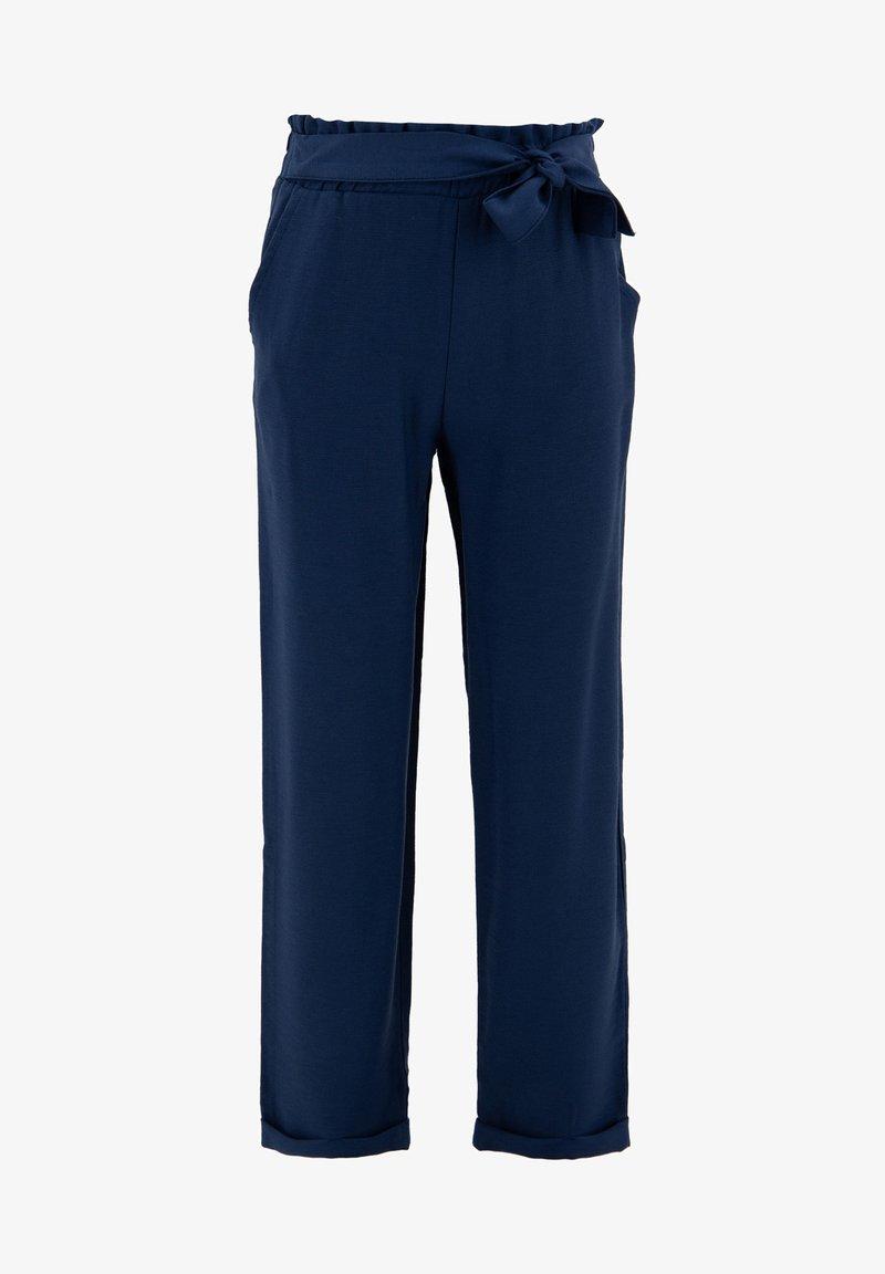 DeFacto - Trousers - indigo