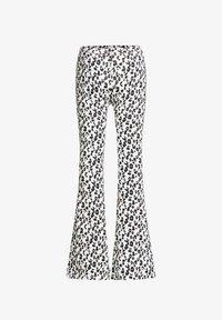 WE Fashion - MET LUIPAARDDESSIN - Legging - off-white - 3