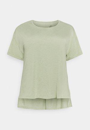 YOGA LAYER PLUS - Basic T-shirt - celadon/olive aura