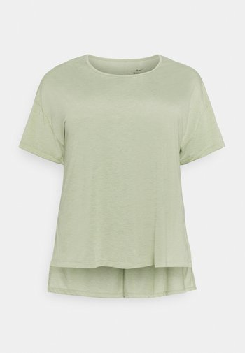 YOGA LAYER PLUS - T-shirt basic - celadon/olive aura