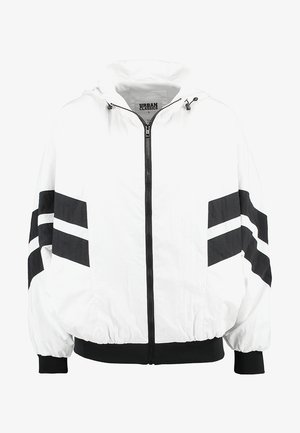 CRINKLE BATWING  - Blouson - white/black