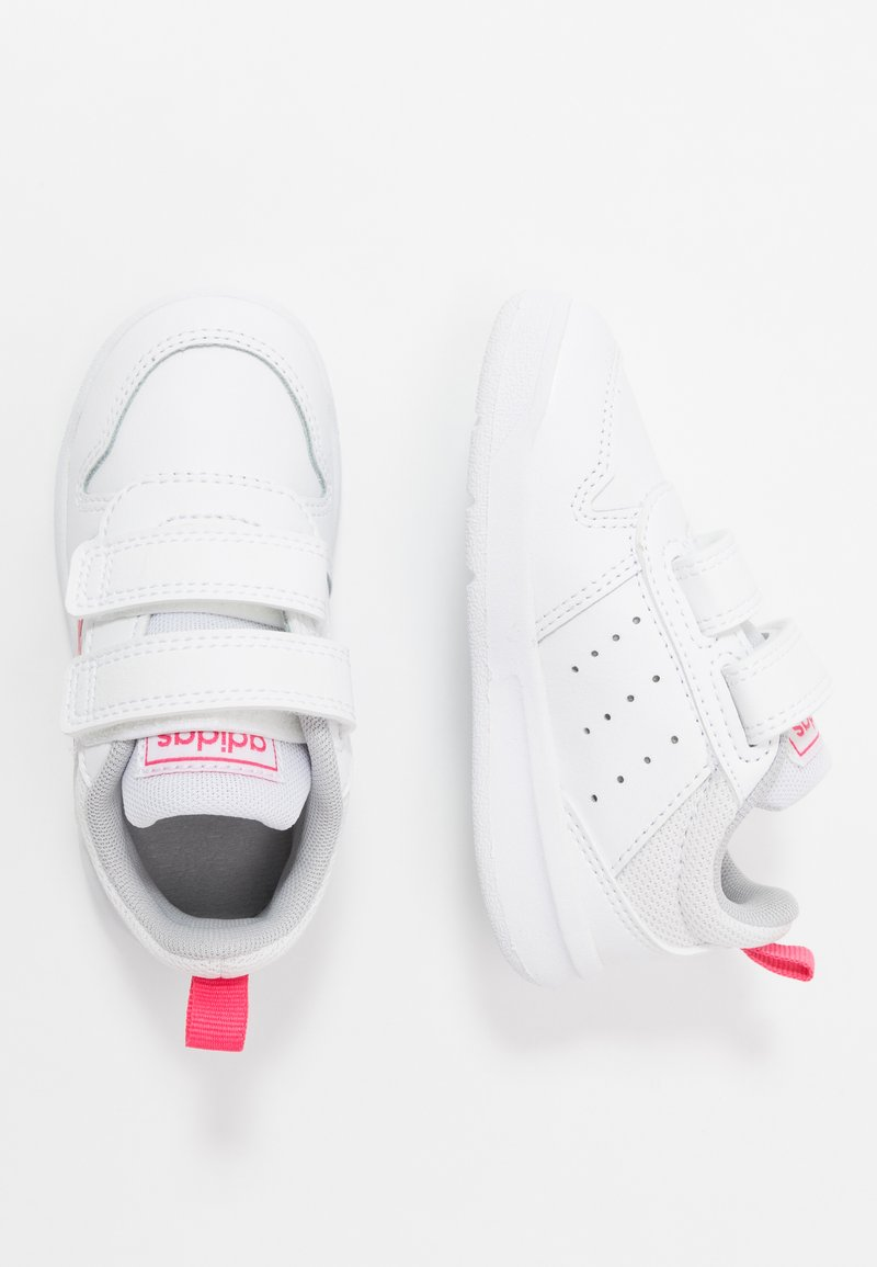 adidas Performance - TENSAUR UNISEX - Sports shoes - footwear white/real pink