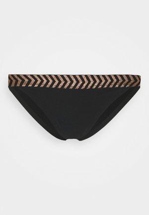 WOMEN SHORE MILI ATOLL TANGA - Bikini pezzo sotto - black