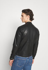 Matinique - MAADRON - Leather jacket - black