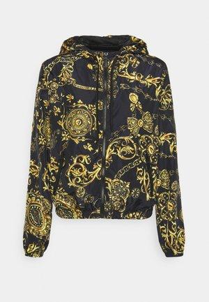OUTERWEAR - Summer jacket - black/gold