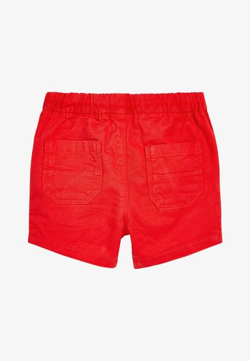RED PULL-ON SHORTS (3MTHS-7YRS)
