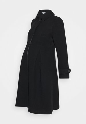 TAILORED COAT - Zimní kabát - black