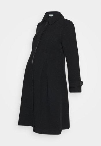 TAILORED COAT - Klasický kabát - black