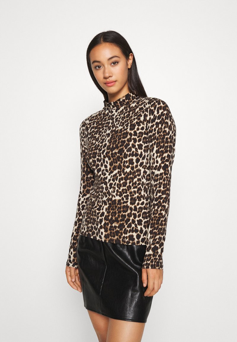 ONLY - MAYA LIVE LOVE - Long sleeved top - black