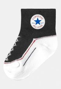 Converse - CHUCK INFANT TODDLER QUARTER 3 PACK UNISEX - Socks - converse blue - 1
