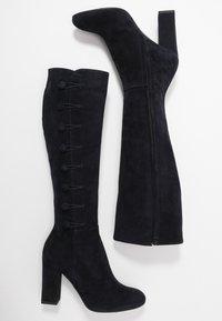 Alberto Zago - High heeled boots - blue - 3