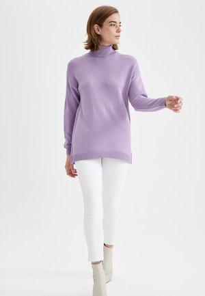 REGULAR FIT - Jumper - purple