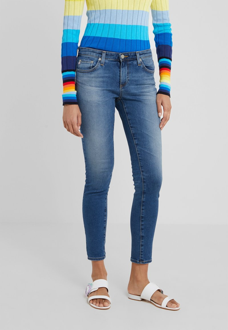 AG Jeans - LEGGING ANKLE - Jeans Skinny Fit - blue denim