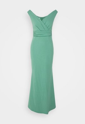 ANDREW OFF SHOULDER MAXI DRESS - Occasion wear - sage green