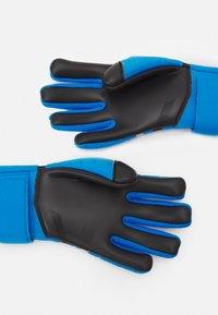 Nike Performance - PHANTOM SHADOW - Goalkeeping gloves - photo blue/black/silver - 0