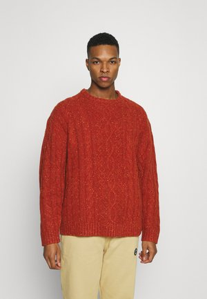 STAY LOOSE CABLE CREW - Jumper - picante marl