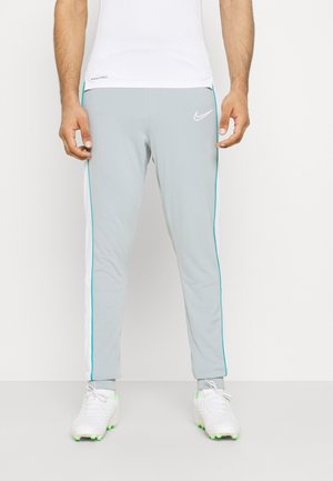 ACADEMY PANT - Tracksuit bottoms - light pumice/white
