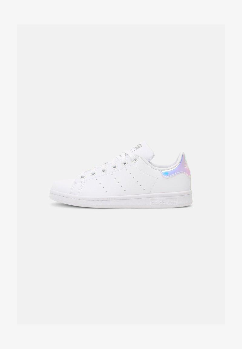 adidas Originals - STAN SMITH UNISEX - Trainers - white/white/silver metallic