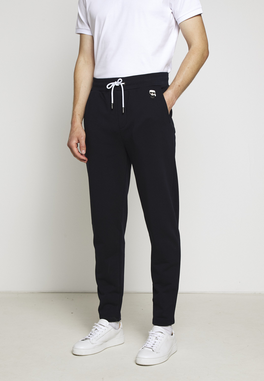 Karl Lagerfeld Pants - Joggebukse Navy/mørkeblå