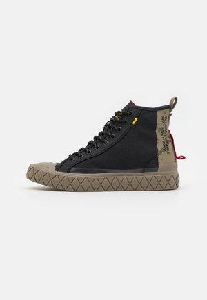 PALLA ACE SUPPLY MID UNISEX - Zapatillas altas - black