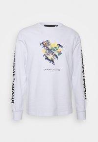 Criminal Damage - DRAGON SKATE - Sweatshirt - white - 0
