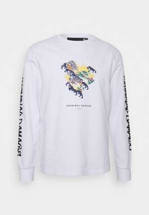 DRAGON SKATE - Sweatshirt - white
