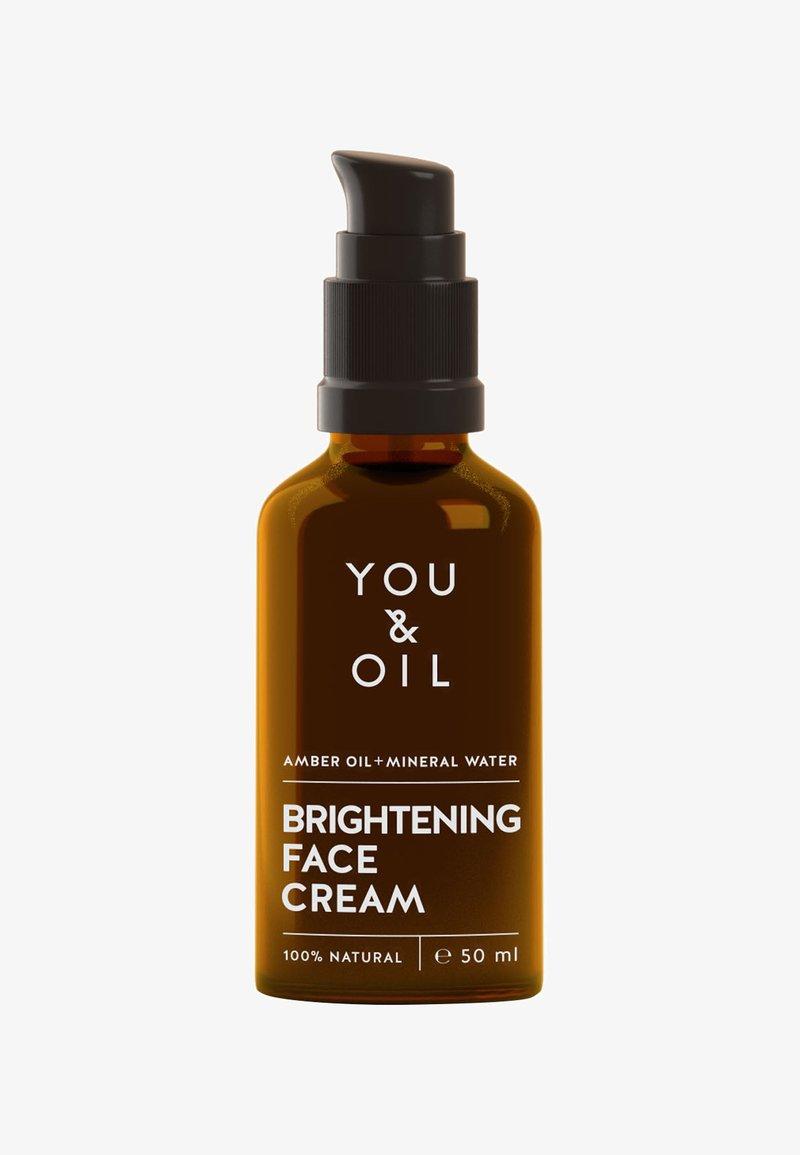 YOU & OIL - BRIGHTENING FACE CREAM  - Face cream - -