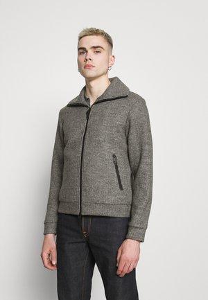 Cardigan - medium grey melange