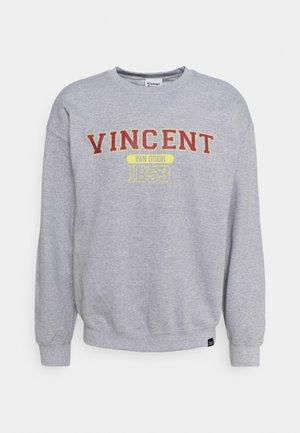 VAN GOGH ART GRAPHIC - Sweatshirt - sports grey