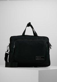 Calvin Klein - PRIMARY GUSSET LAPTOP BAG - Aktovka - black - 0