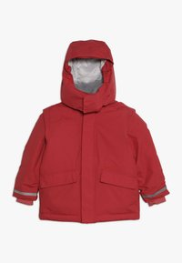 Didriksons - OSTRONET KIDS JACKET - Waterproof jacket - rasberry red - 0