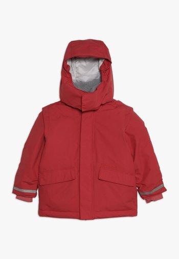 OSTRONET KIDS JACKET - Veste imperméable - rasberry red