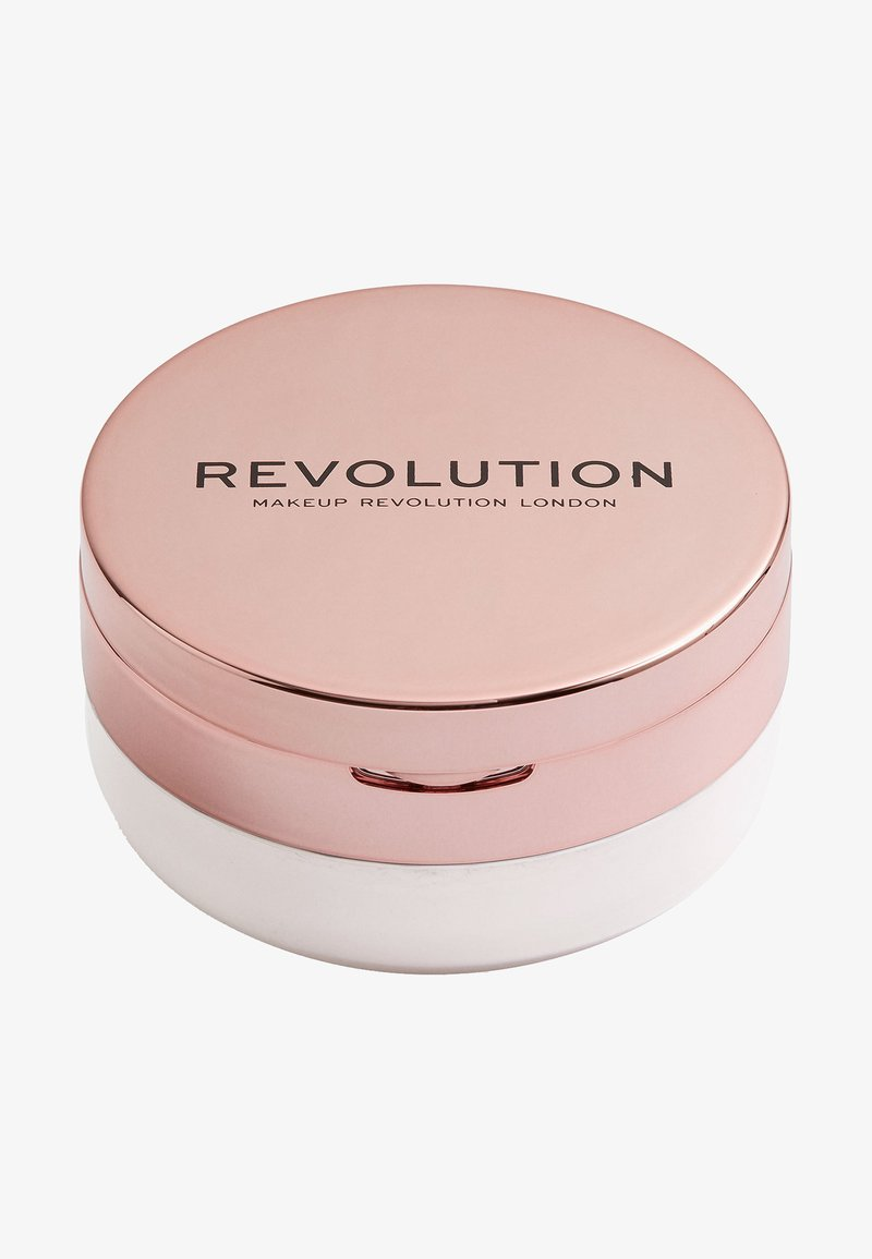 Make up Revolution - CONCEAL & FIX SETTING POWDER - Setting spray & powder - light lavendar