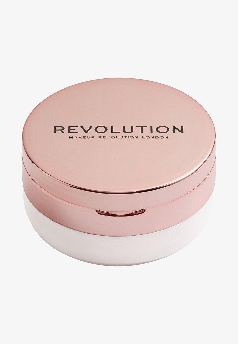 Make up Revolution - CONCEAL & FIX SETTING POWDER - Fixeerspray & -poeder - light lavendar