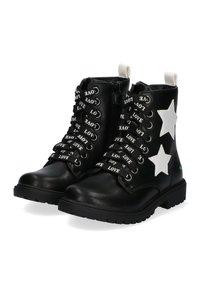 Bunnies - Veterboots - black/white - 2