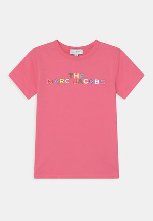 SHORT SLEEVES - Print T-shirt - pink