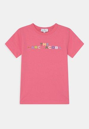 SHORT SLEEVES - T-shirt imprimé - pink