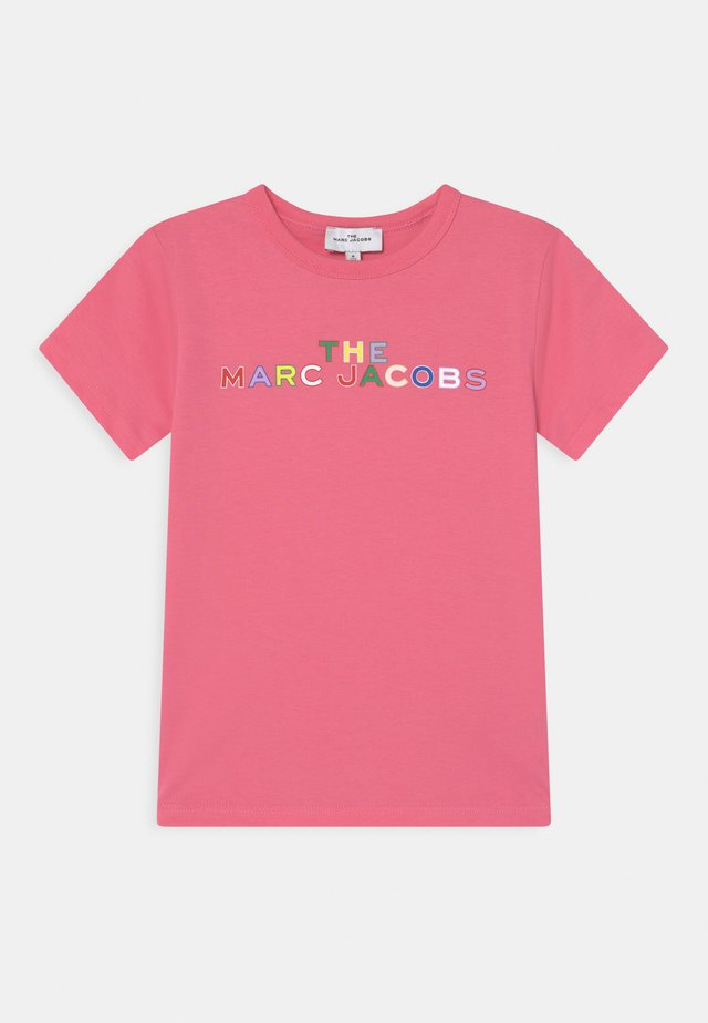 SHORT SLEEVES - T-shirt imprimé - pink