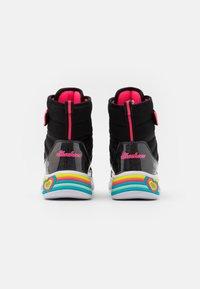 Skechers - SWEETHEART LIGHTS - Veterboots - black/hot pink - 2