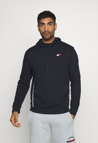 Tommy Hilfiger - PIPING HOODY - Hoodie - blue - 0