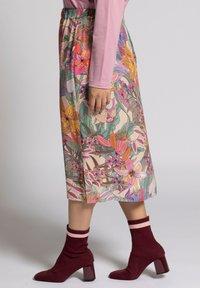 Ulla Popken - A-line skirt - multi - 2