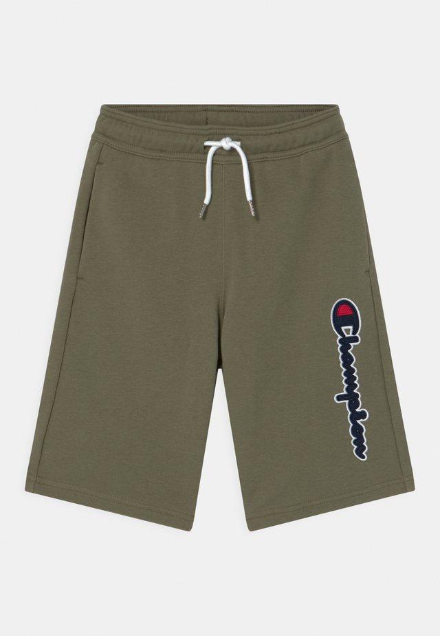 LOGO BERMUDA UNISEX - Short de sport - khaki